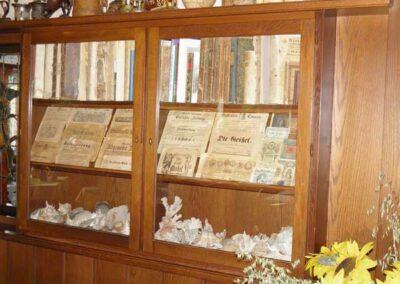 Bücher und Zeitungen